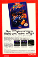 Mighty Final Fight - flyer