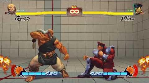 SF4 - Gouken Kongoshin defence