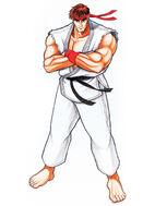 Ryu-sf2-original-artwork