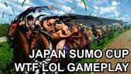 Japan Sumo Cup Gameplay WTF LOL Street Fighter