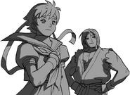 SFA3-Sakura & Ken concept