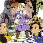 CAPCOM Fighting Jam OST cover artwork Shinkiro