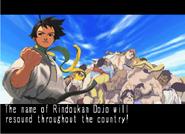 Makoto artwork from her Street Fighter III 3rd Strike ending