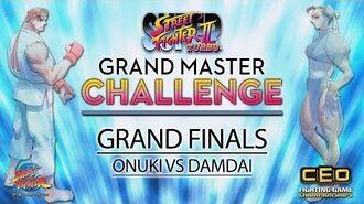 Street Fighter 30th Anniversary Tournament Series Super Turbo - Grand Finals (ONUKI vs. DAMDAI)