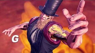 Street Fighter V Arcade Edition - G Gameplay Trailer