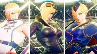Street Fighter 5 Arcade Edition FALKE ALL SKINS,Costumes ,Intros ,Super Move with FALKE - SFV