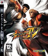 Street Fighter IV (PS3 - cubierta Europa)
