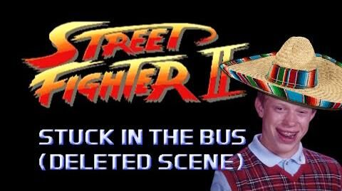 Street Fighter Stuck in the Bus (Deleted Scene) - Marca Blanca