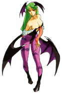 MvCapcom - Clash of Super Heroes - Morrigan Aensland artwork