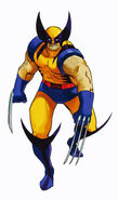 MvCapcom - Clash of Super Heroes - Wolverine artwork