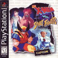 X-Men vs Street Fighter PSX EEUU