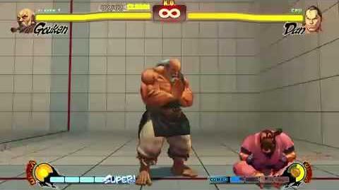 Gouken Trial Challenge Street Fighter 4