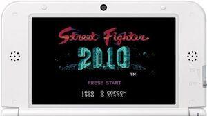 2010 ストリートファイター プレイ映像 (3DS)