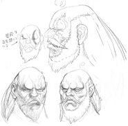 SFIV PC Concept Art Gouken 09