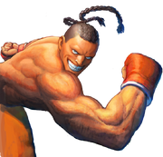 Character select Dee Jay SSFIV