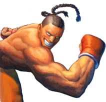 Character select Dee Jay SSFIV