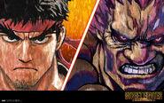 SF Novel-Akuma vs Ryu-1