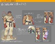 TEPPEN - Ryu concept art from 4Gamer