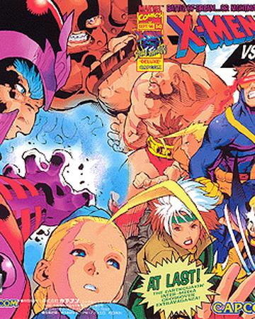 X Men Vs Street Fighter Street Fighter Wiki Fandom