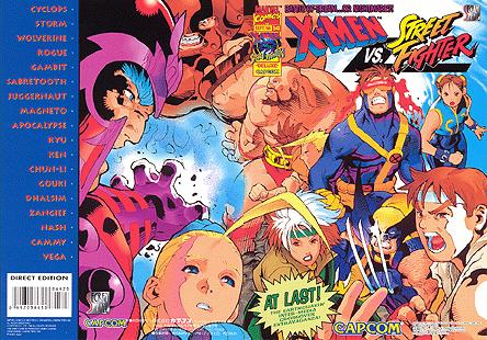 Resultado de imagen para X-Men vs. Street Fighter