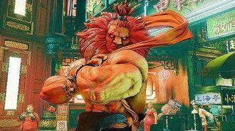 Street Fighter 5 AKUMA STORY MODE 【1080p】60fps