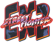Street Fighter EX 2 logotipo