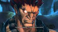 SFXT - Akuma Rival Battle Cutscene
