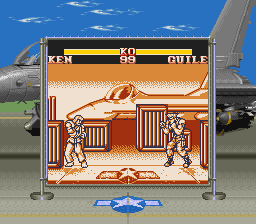 SF2 GB Guile Stage
