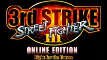 Street Fighter 3 3rd Strike Online Edtion Logo