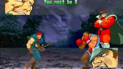 Street Fighter Alpha 3 Rolento Full Storyline and Ending