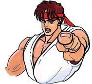 SFII-Ryu art