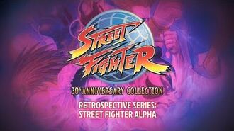 Street Fighter 30th Anniversary Collection – Retrospective Series Street Fighter Alpha