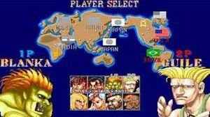 Street Fighter 2 - Retro Arcade Intro