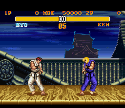 SF2T SNES Ryu Stage