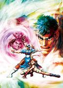STREET FIGHTER X Tekken-Store Promotional Illustration-1