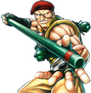 Character select Rolento USF4