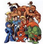 Club Capcom-Megaman & Red Arremer