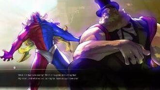 Street Fighter® V Gill story!!!