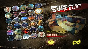 USFIV The Half Pipe select