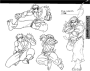 SFIIING-Ryu sprite concept-3