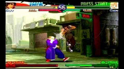 Street Fighter Alpha 3 - Guy Playthrough 2 2