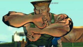 Street Fighter IV - Guile's Rival Cutscene English Ver. (720p)