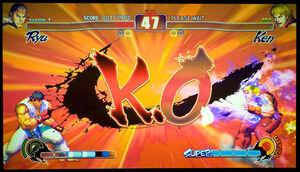 Street Fighter IV screenshot Ryu vs Ken