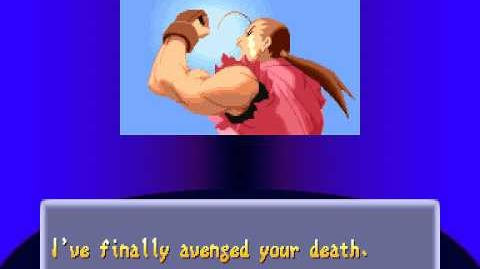 Street Fighter Alpha 2 Dan Ending