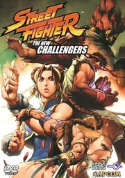 Street Fighter The New Challengers DVD cover