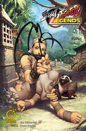 Street Fighter Legends - Ibuki 1 B UDON comic - cover