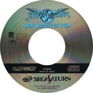 Street Fighter Real Battle on Film (J) CD