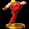 Trofeo de Ken SSB4 (Wii U)