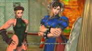SFXT - Chun-Li Cammy Rival Battle Cutscene