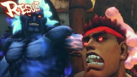Street Fighter 4 Arcade Edition Oni vs Evil Ryu Trailer